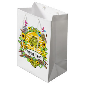 Gift Bag Birthday Party Munchi Power! MYSTIC FROG