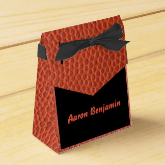 Gift bag for the Hoops Bar Mitzvah Collection Favor Box