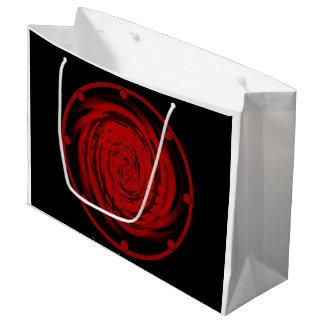 Gift Bag - Large BLACK HOLE SWIRL