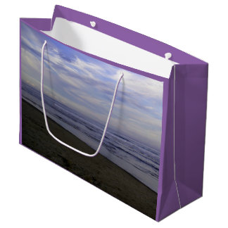 Gift Bag - Large PHOTOGRAPH OF BEACH
