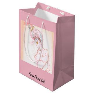 gift bag medium pink