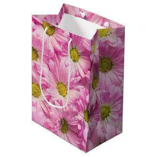 Gift Bag - Pink Gerbera Daisies