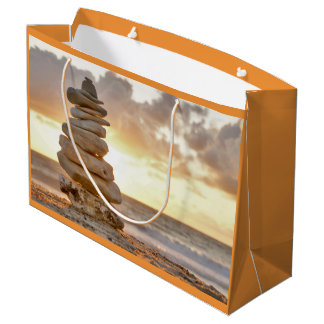 Gift bag stone tower