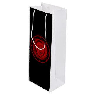 Gift Bag - Wine BLACK HOLE SWIRL