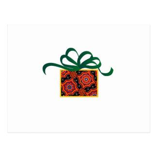 Gift Box Applique Postcard