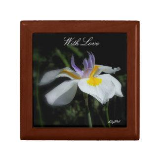 Gift Box Wild Iris With Love