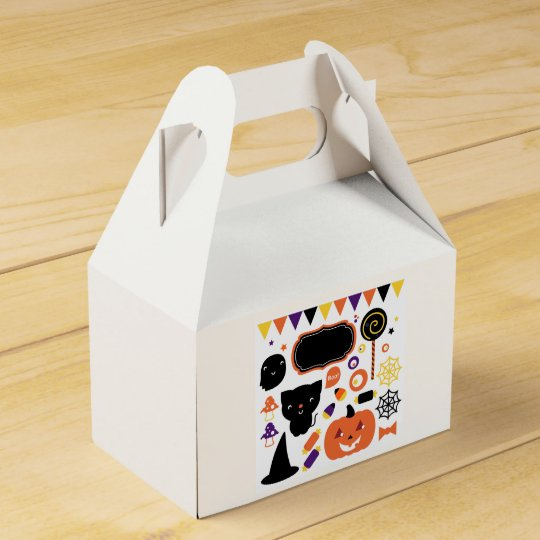 Gift box : with Halloween creatures Wedding Favor Boxes