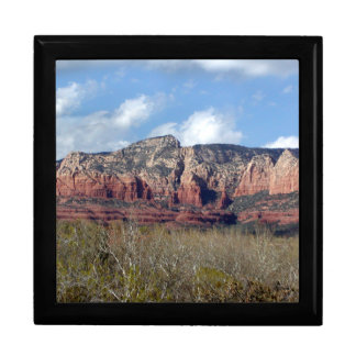 gift box with photo of Arizona red rocks