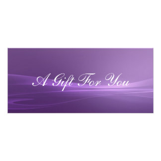 Gift Certificate Rack Card Template