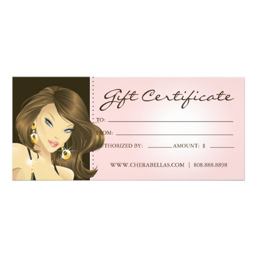 Hair salon gift certificate template free mandegarfo hair salon gift certificate template free yadclub Images