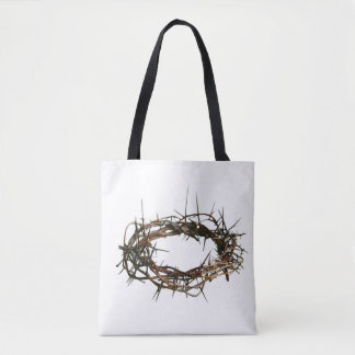 Gift christian white bag crown of thorns