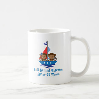 Gift For 38th Wedding Anniversary Hoot Coffee Mug