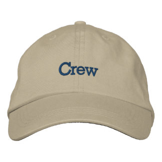 Gift for Boater - Crew Hat Embroidered Hat