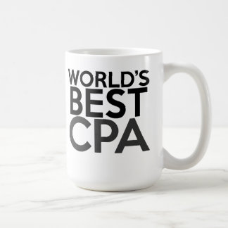 Gift for CPA - World's Best CPA Coffee Mug