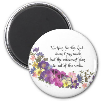 gift for volunteer or church worker magnet