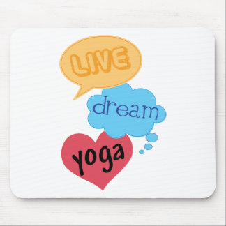 Gift for Yoga Mouse Pad