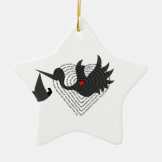 Gift from God Ceramic Star Ornament