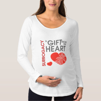 Gift from the Heart Maternity Long Sleeve T-Shirt