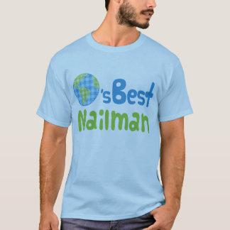 Gift Idea For Mailman (Worlds Best) T-Shirt