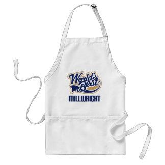 Gift Idea For Millwright (Worlds Best) Standard Apron