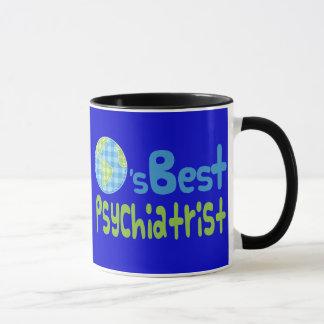 Gift Idea For Psychiatrist (Worlds Best) Mug