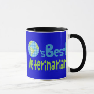 Gift Idea For Veterinarian (Worlds Best) Mug