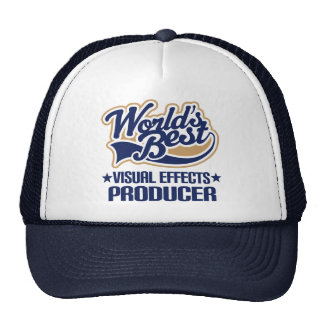 Gift Idea For Visual Effects Producer (Worlds Best Trucker Hat