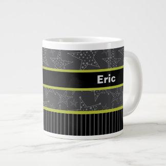 Gift Mug for Him, Personalized Name mug, Gray