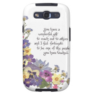 gift of appreciation samsung galaxy SIII cover