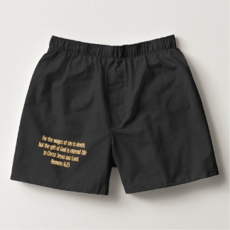 Gift of God Is Eternal Life Boxers