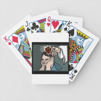 Gift of Inspiration and Progress Bicycle Playing Cards