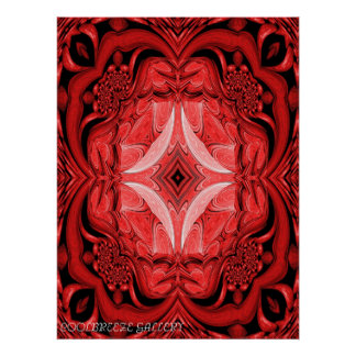 GIFT OF PASSION-RED SERIES I POSTER