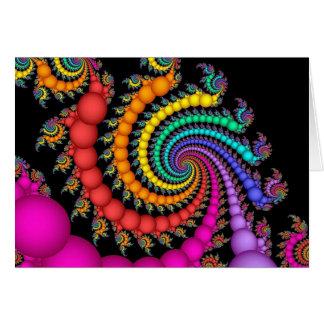 Gift of Pearls Rainbow Gay Pride Greeting Card