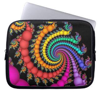 Gift of Pearls Rainbow LGBT Pride Laptop Sleeve