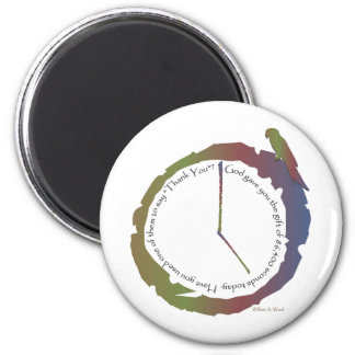 Gift of Time (clock) Magnet