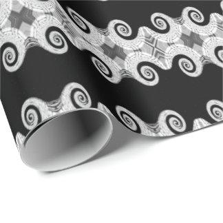 Gift paper - Black&White Fantasy