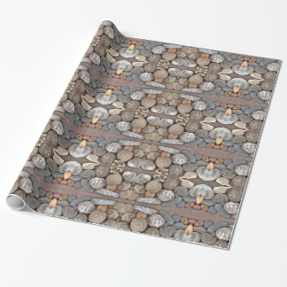 Gift paper - fossils
