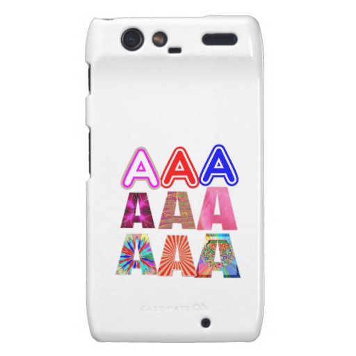 GIFT someone an Aaa Grade: Acknowledge ACHIEVEMENT Droid RAZR Cases
