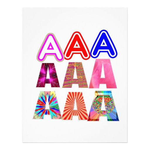 GIFT someone an Aaa Grade: Acknowledge ACHIEVEMENT Letterhead