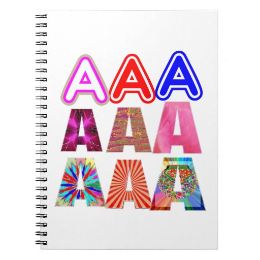 GIFT someone an Aaa Grade: Acknowledge ACHIEVEMENT Spiral Note Book