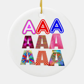 GIFT someone an Aaa Grade: Acknowledge ACHIEVEMENT Christmas Ornament