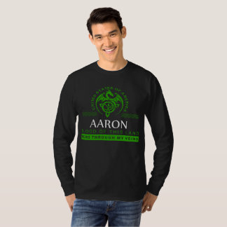 Gift T-Shirt For AARON