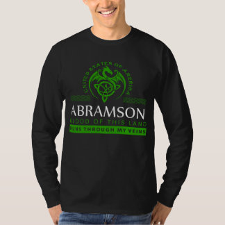 Gift T-Shirt For ABRAMS