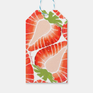 Gift Tag - Strawberry Secret Pack Of Gift Tags
