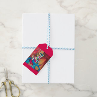 Gift tag with Thai dancer Pack Of Gift Tags