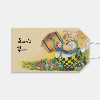 Gift Tags Homebrewed beer Personalized homebrew Pack Of Gift Tags