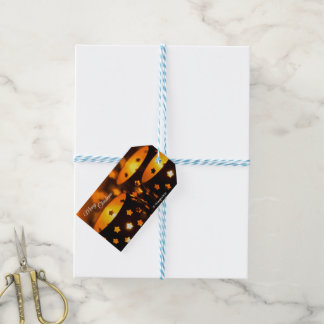 Gift Tags with Christmas Candlelights