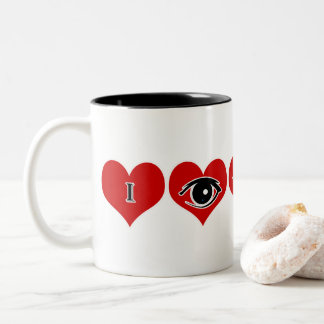 "Gift this Valentine's Special Mug "" I see you"""
