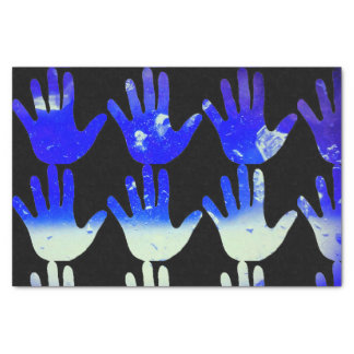 Gift Tissue Paper with Icy Hand Print