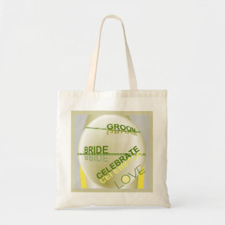 Gift TOTE -Wedding-Bride/Groom-Celebrate Love Tote